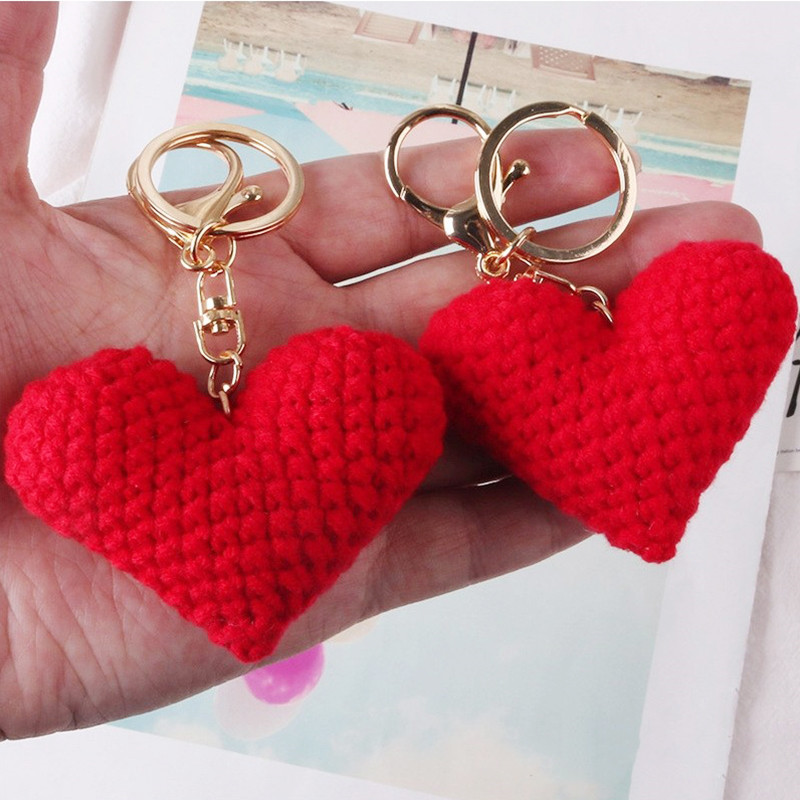 crochet key chain